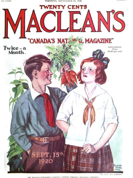 Issue: - September 1920 | Maclean's