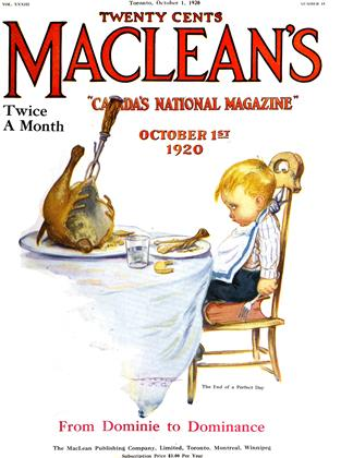 Cover for the October 1 1920 issue