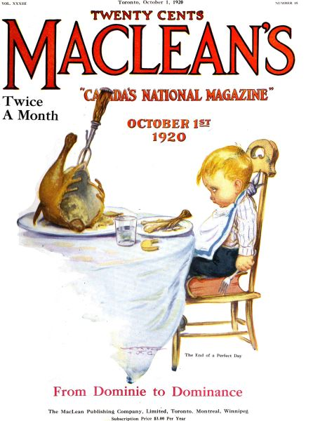 Issue: - October 1920 | Maclean's