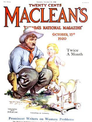 October 15, 1920 | Maclean's