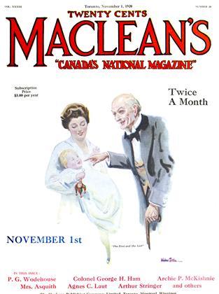 November 1, 1920 | Maclean's