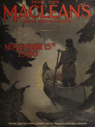 NOVEMBER 15TH 1920 | Maclean's