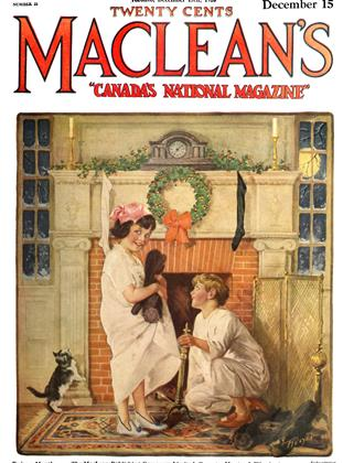Cover for the December 15 1920 issue