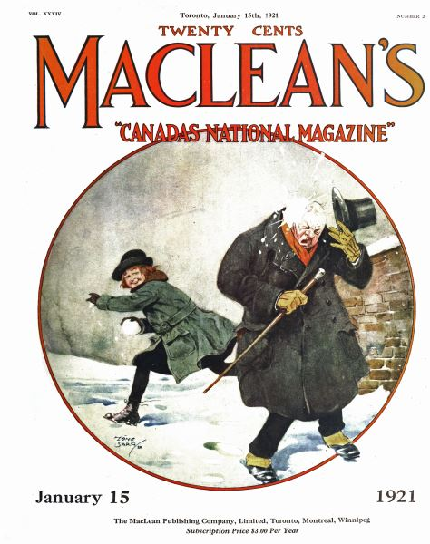 Issue: - January 15th, 1921 | Maclean's