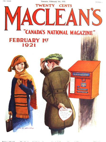 Issue: - February 1st, 1921 | Maclean's