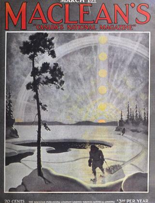 Cover for the March 1 1921 issue