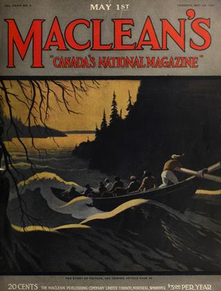 Cover for the May 1 1921 issue