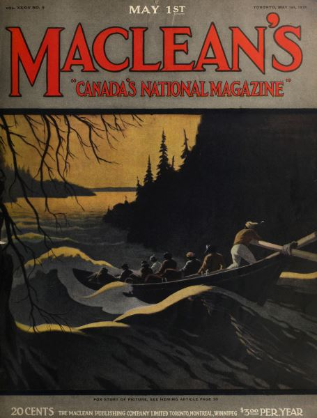Issue: - MAY 1st, 1921 | Maclean's