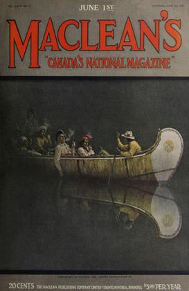 Cover for the June 1 1921 issue
