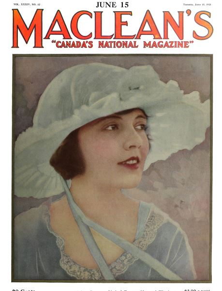 Issue: - June 1921 | Maclean's