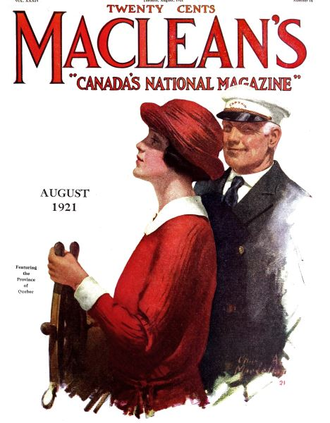 Issue: - August 1921 | Maclean's