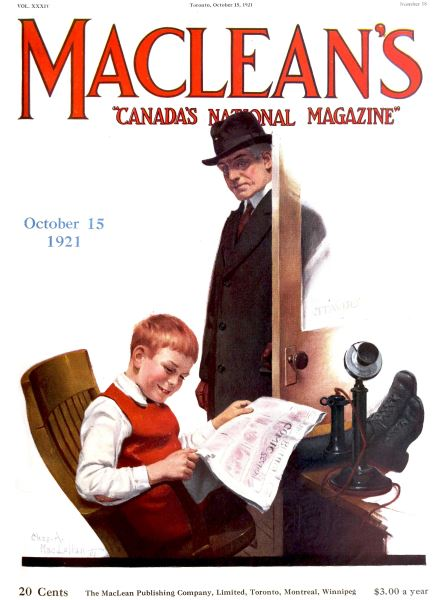 Issue: - October 1921 | Maclean's