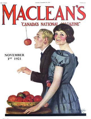 Cover for the November 1 1921 issue