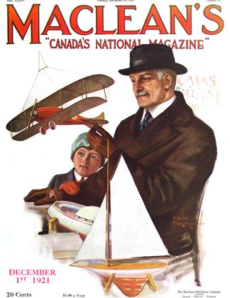 Cover for the December 1 1921 issue