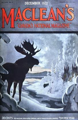 Cover for the December 15 1921 issue