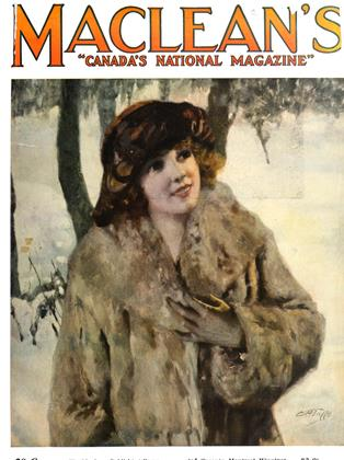 Cover for the January 1 1922 issue