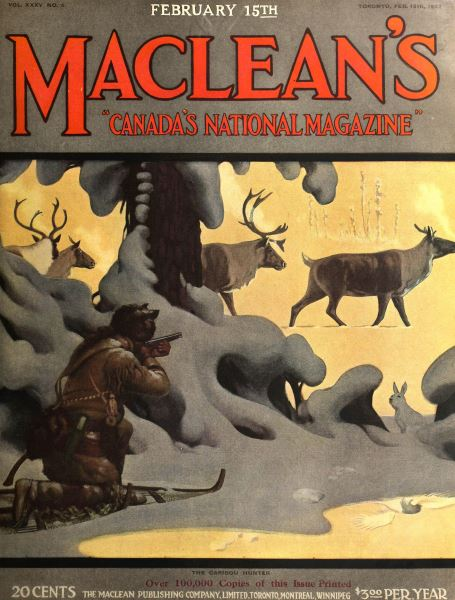 Issue: - FEB. 15th, 1922 | Maclean's