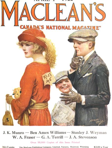 Issue: - April 1922 | Maclean's