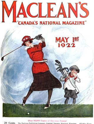 Cover for the May 1 1922 issue