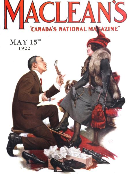 Issue: - MAY 15,1922 | Maclean's