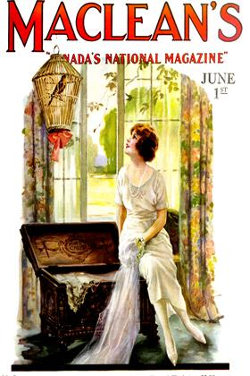 Cover for the June 1 1922 issue