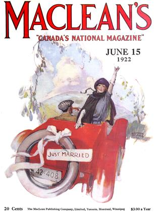 Cover for the June 15 1922 issue