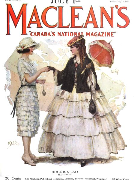 Issue: - July 1st, 1922 | Maclean's