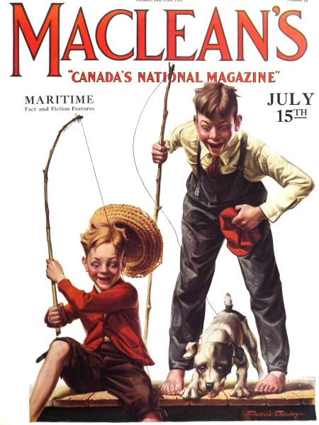 Issue: - JULY 15TH 1922 | Maclean's
