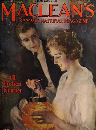 Cover for the August 1 1922 issue