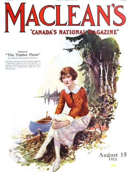 Issue: - August 1922 | Maclean's