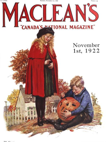 Issue: - November 1st, 1922 | Maclean's