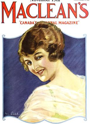 Cover for the November 15 1922 issue