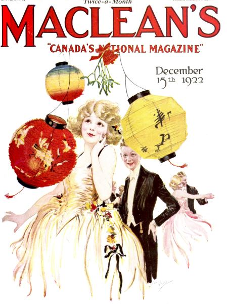 Issue: - December 15th 1922 | Maclean's