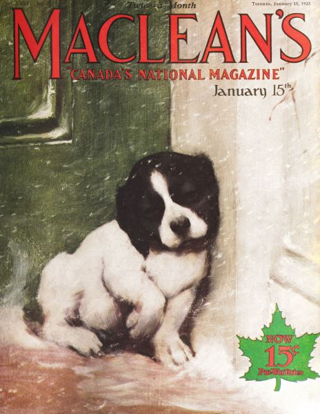 Issue: - January 1923 | Maclean's