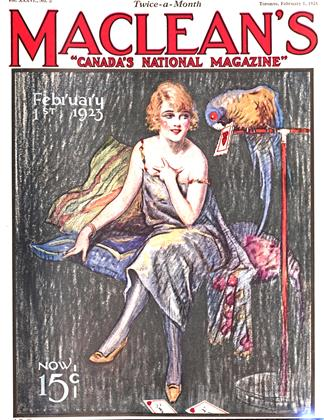 Cover for the February 1 1923 issue