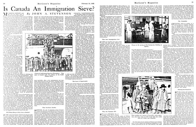 Is Canada An Immigration Sieve?
