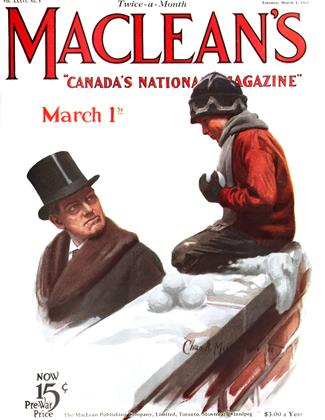Cover for the March 1 1923 issue