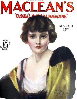 Cover for the March 15 1923 issue
