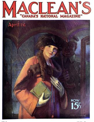 Cover for the April 1 1923 issue
