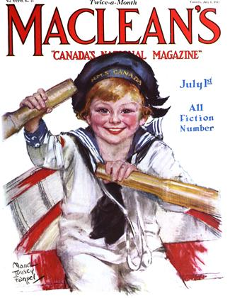 Cover for the July 1 1923 issue