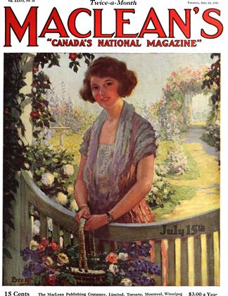 Cover for the July 15 1923 issue