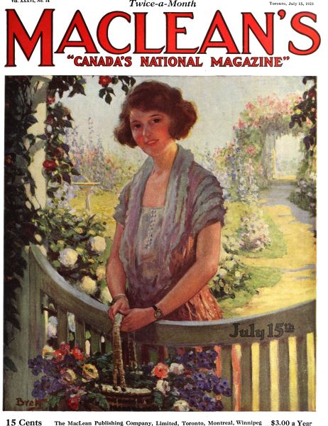 Issue: - July 1923 | Maclean's