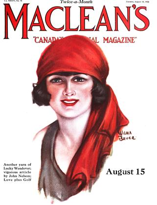 Cover for the August 15 1923 issue