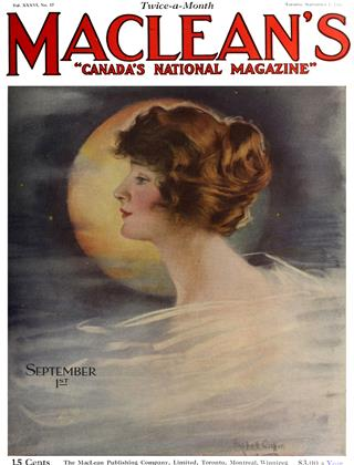 Cover for the September 1 1923 issue