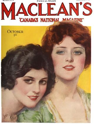 Cover for the October 1 1923 issue