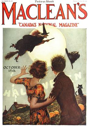 Cover for the October 15 1923 issue