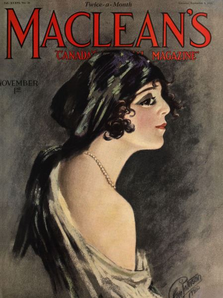 Issue: - November 1923 | Maclean's