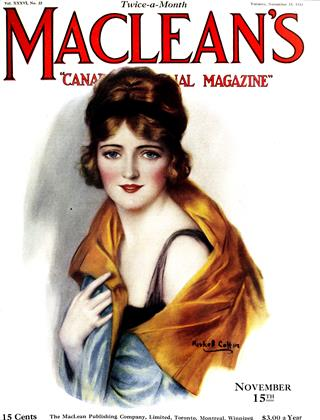 Cover for the November 15 1923 issue