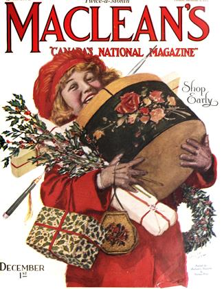 Cover for the December 1 1923 issue