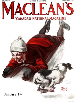 Cover for the January 1 1924 issue